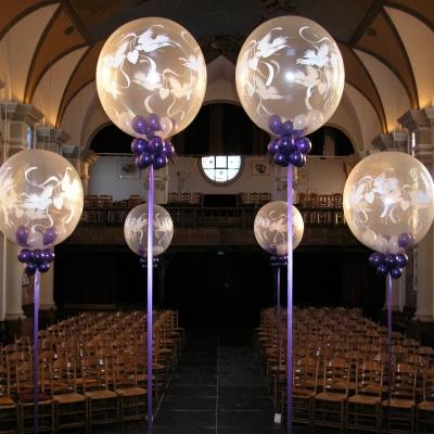 Wij leveren u de mooiste ballonnen decoratie!